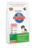 Сухой корм для щенков всех пород/ Ягненок, рис. Hill's™ Science Plan™ Puppy Healthy Development™ Lamb & Rice