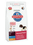 Сухой корм для взрослых собак мини пород идеальн. вес/ Курица. Hill's™ Science Plan™ Canine Adult Advanced Fitness™ Mini with Chicken