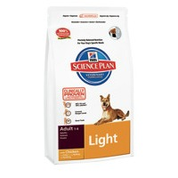 Сухой корм для собак для поддержания оптимального веса/ Курица. Hill's™ Science Plan™ Canine Adult Light with Chicken