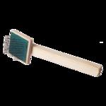 Пуходерка деревянная плоская малая