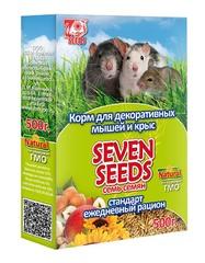 Корм для декоративных мышей и крыс SEVEN SEEDS 500г
