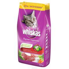 Сухой корм для взрослых кошек Вискас