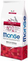 Monge Dog Mini корм для взрослых собак мелких пород