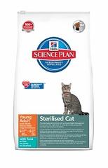 Корм сухой Hill's для стерилизованных кошек с тунцом