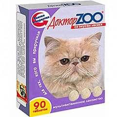 """Витамины """"ДокторZоо"""" для кошек (лосось)"""