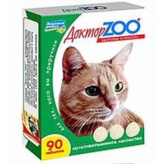 """Витамины """"ДокторZоо"""" для кошек (протеин)"""