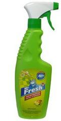 Спрей Mr. Fresh 3 в1 ликвидатор пятен и запаха для кошек
