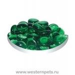 Грунт стеклянный №137 (плоский лесная зелень) 170 гр.