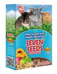 Мюсли «SEVEN SEEDS» для всех видов грызунов 200г