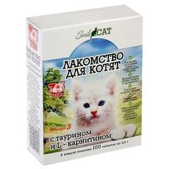 SMILE CAT Лакомство для котят с таурином и L- карнитином