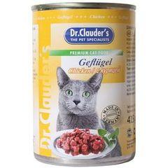 Консервы для кошек Dr. Clauder`s (Доктор Клаудер) 415 гр.