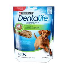 Purina: Dentalife Large Dog лакомство для крупных пород собак, 142г