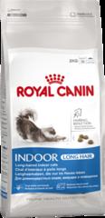 Корм для домашних длинношерстных кошек/ ROYAL CANIN INDOOR LONG HAIR 35
