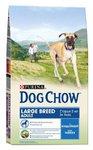 Dog Chow Adult Large Breed для собак крупных пород Индейка