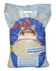 Минеральный наполнитель Brava, 15 л.
