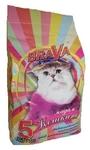 Минеральный наполнитель Brava Мадам Кошкина для длинношёрстных кошек