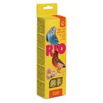 Палочки для всех видов птиц с яйцом и ракушечником RIO