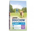 Dog Chow Puppy для щенков Ягненок/рис
