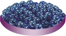 Грунт стеклянный №25 Круглый мелкий синий (100 шт)