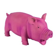 Игрушка из латекса Розовый поросенок 22см