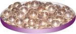 Грунт стеклянный №26 Круглый мелкий розовый (100 шт)
