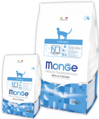 MONGE CAT URINARY (профилактика мочекаменной болезни)