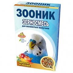 Корм для волнистых попугаев ЗООНИК