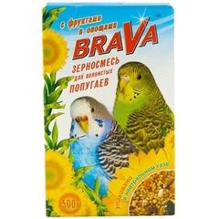 Корм для волнистых попугаев BRAVA