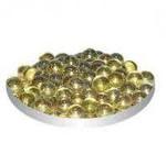 Грунт стеклянный №37 - Янтарный мелкий круглый (100шт)