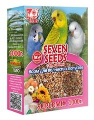 SUPERMIX Корм для волнистых попугаев «SEVEN SEEDS»