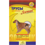 Трусы гигиенические для собак №3 Зооник