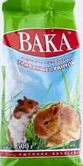Травяные гранулы для грызунов ВАКА ВК