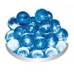 Грунт стеклянный №45 Голубой круглый 50шт.