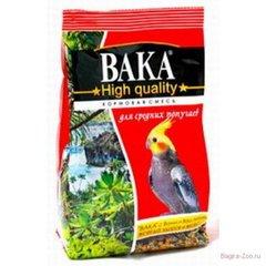 Корм для средних попугаев ВАКА High Quality