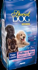 Monge Special Dog корм для щенков курица и рис