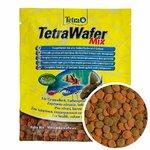 """Сухой корм """"TETRA Wafer Mix"""" корм-чипсы для всех донных рыб"""