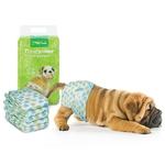 Подгузник для собак L,вес собаки 15-22кг (уп.10шт)