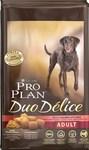Сухой корм для взрослых собак/ Лосось Pro Plan Duo Delice