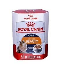 Royal Canin Интенс Бьюти 4+1 желе