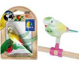 """Игрушка для птиц """"Попугай"""" 28*10*7см"""
