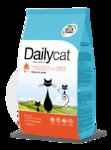Dailycat KITTEN для котят с индейкой и рисом