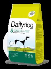 Dailydog ADULT для взрослых собак средних пород с курицей и рисом