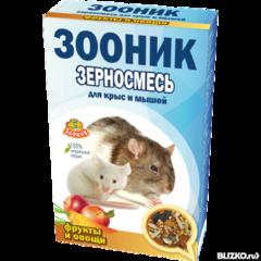 """Корм для крыс и мышей """"Зооник"""""""
