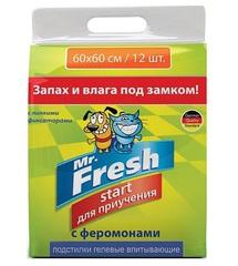 Пеленки для приучения к месту Mr.Fresh Start