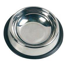 Миска металлическая на резинке