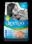 LeeLoo Корм сухой для взрослых стерилизованных кошек и кастрированных котов с курицей и овощам