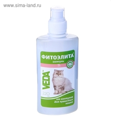 """Шампунь """"Фитоэлита"""" от колтунов для пушистых кошек, 220 мл"""