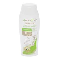 Гипоаллергенный шампунь Animal Play с аминокислотами и экстрактом шалфея для собак и кошек