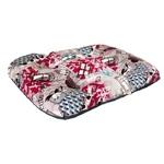 Матрас для собак средних пород Филин красный, ткань канвас, 70 х 50 х 10 см