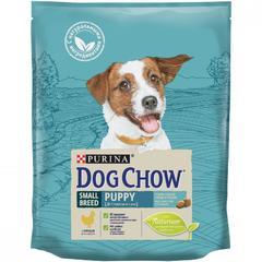 Dog Chow Puppy Small Breed для щенков мелких пород, курица
